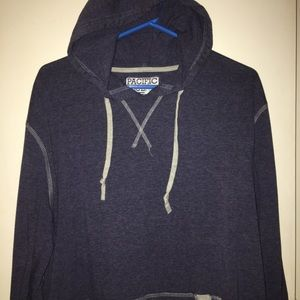 NWOT Pacific Blue Light Weight Pullover Hoodie